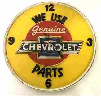 Chevrolet Wall Clock