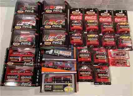 lot of 25 1998 Coca Cola Matchbox Collectibles