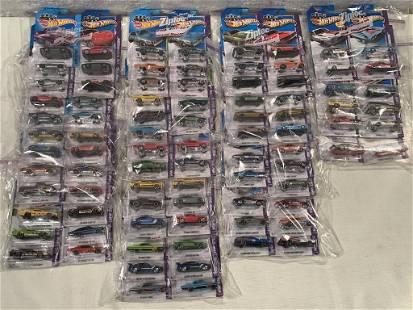 lot of 80+ 2013 Showroom Hot Wheels