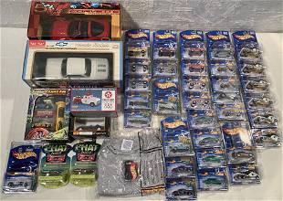 lot of 40+ asst Hot Wheels, Matchbox, others