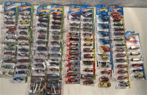 lot of 90+ 2014 Workshop Hot Wheels & others