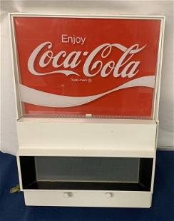Coca-Cola Light and Digital Clock