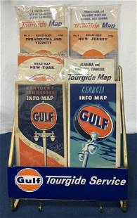 Gulf Tourguide Service map display & 8 maps