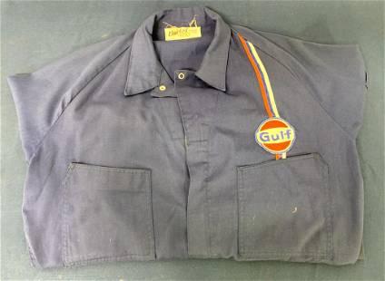 Gulf Service Station Attendant Uniform