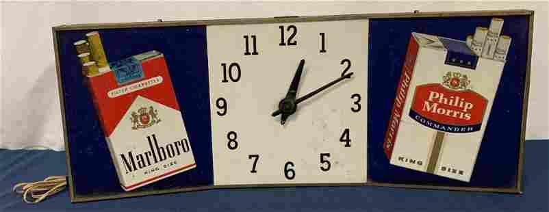 Marlboro/Philip Morris clock