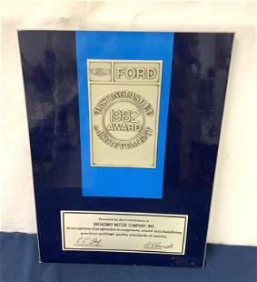 Ford Distinguished Award
