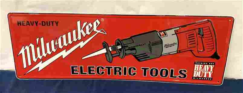 Milwaukee Electric Tools Advertising Sign