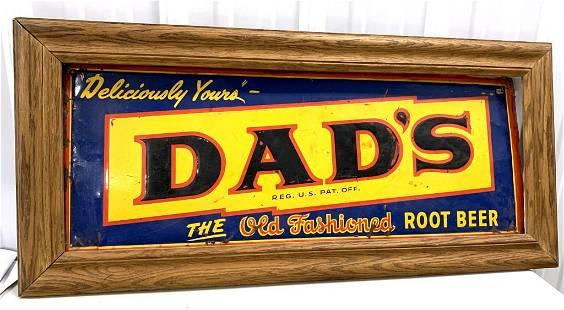 Dad's Root Beer Tin Sign