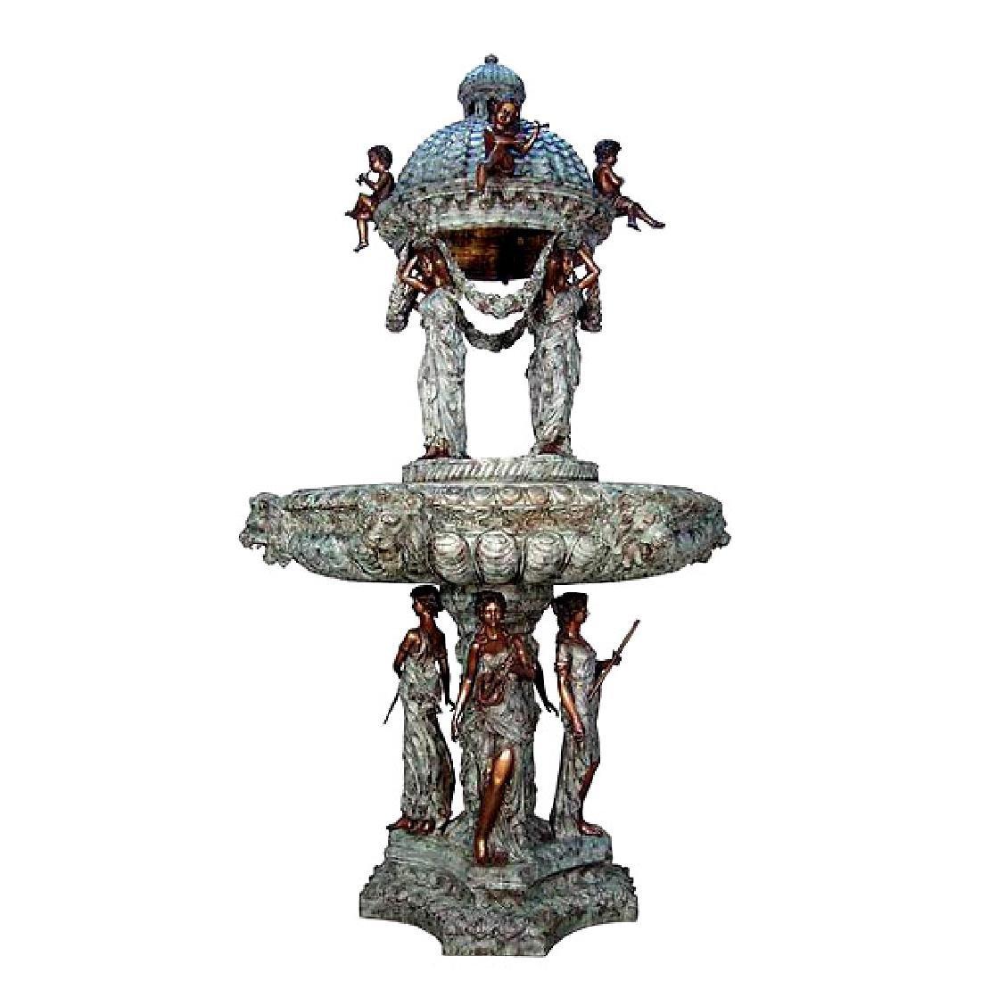 Bronze Four Season Fountain