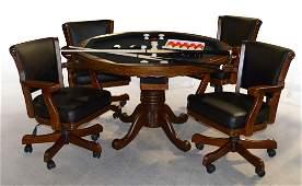 Maverick Bumper Pool Card Table Set of 5 (KIT)