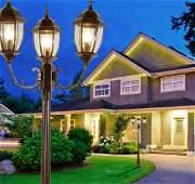Aston 3 Light Street Lamp