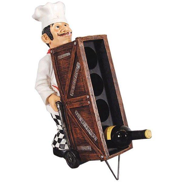 Waiter Push Wine Cart