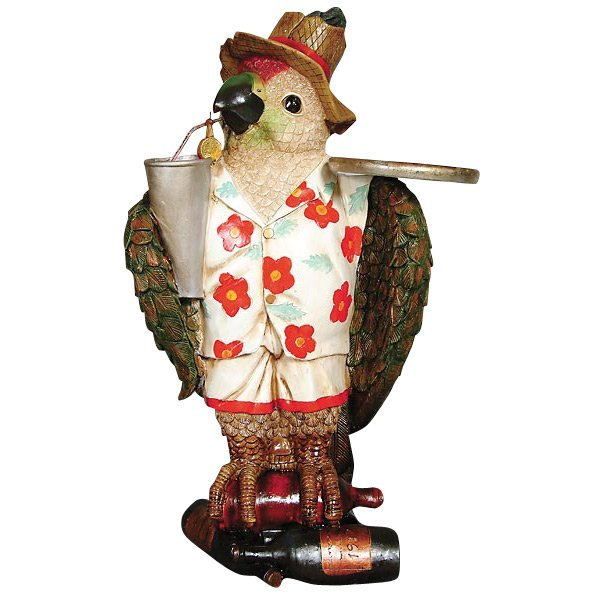 Tropical Parrot with Tray