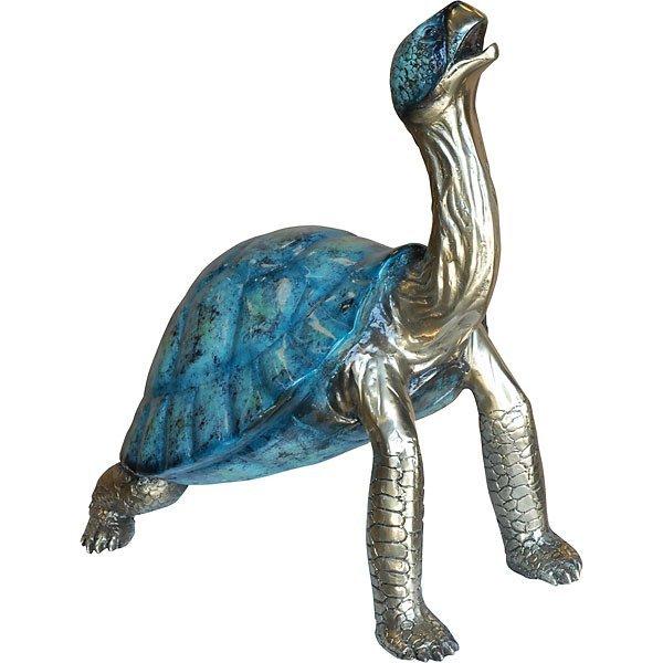 Special Patina Bronze Turtle