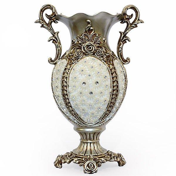 Silver Crystal Vase
