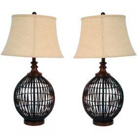 *po*island Weave Lamp - Set 2