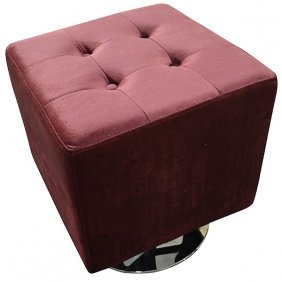 Square Swivel Stool