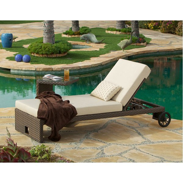 Panorama Woven Chaise & SideTb