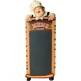 Lifesize Cook With Chalkboard