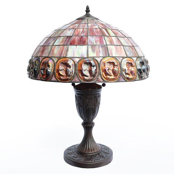 Turtle Back Table Lamp