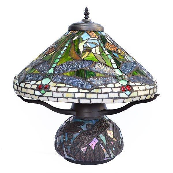 Dragonfly Mosaic Table Lamp          FREE SHIPPING