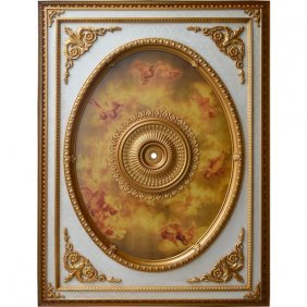 Cherub Ceiling Medallion Free Shipping