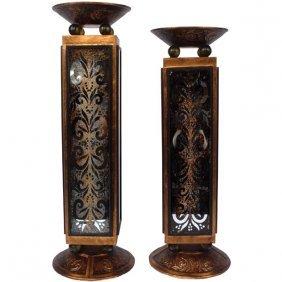 Horchata Candleholder Set Of 2 Free Shipping