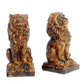 Regal Lion Bookends Free Shipping
