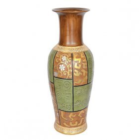 Springtime Vase - Lg Free Shipping