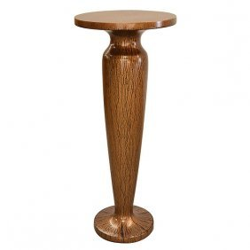 Copper Drizzle Pedestal Free Shipping