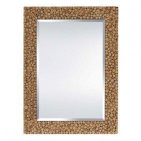 Cabin Cut Mirror Free Shipping