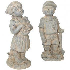 Boy & Girl Set Of 2 Free Shipping