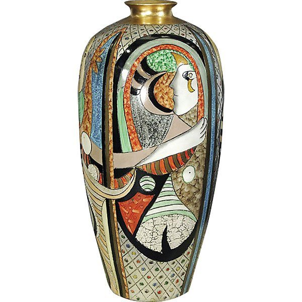 Large Picasso Vase          FREE SHIPPING