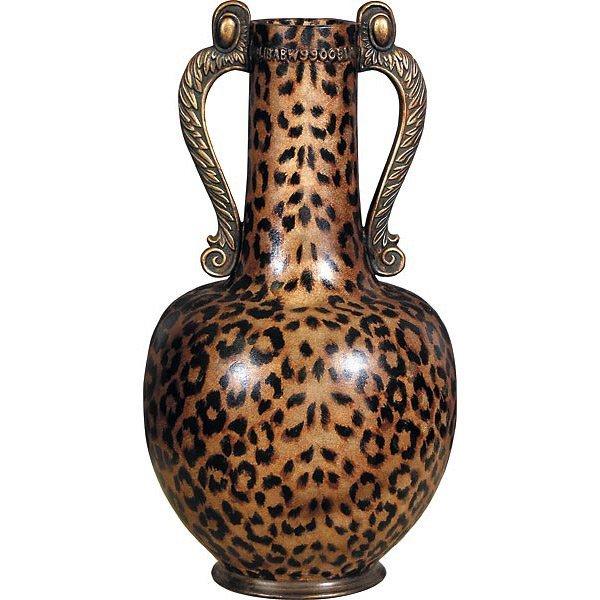 Leopard Print Vase          FREE SHIPPING