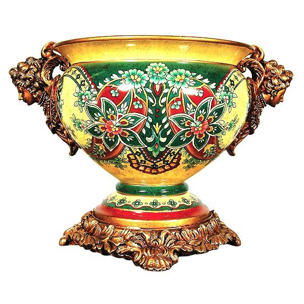 Lady Torquoise Footed Bowl          FREE SHIPPING