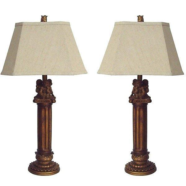 *PO*Monkey Table Lamp - Set of          FREE SHIPPING