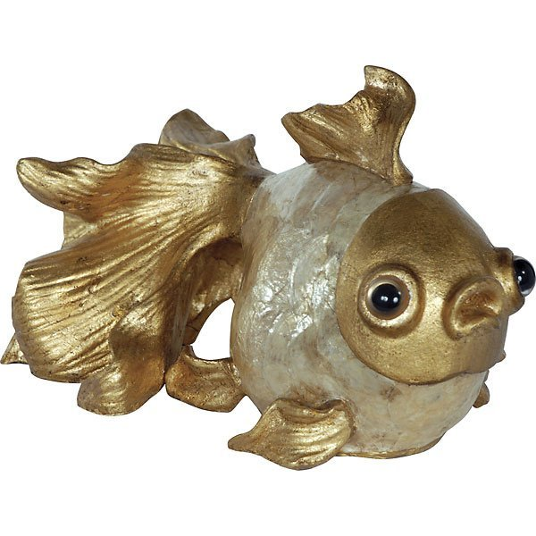 Golden Capiz Goldfish          FREE SHIPPING