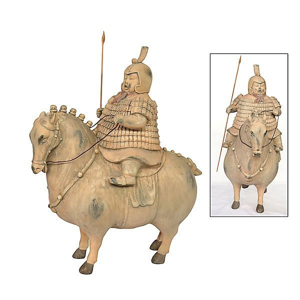 Asian Soldier on Horse          FREE SHIPPING