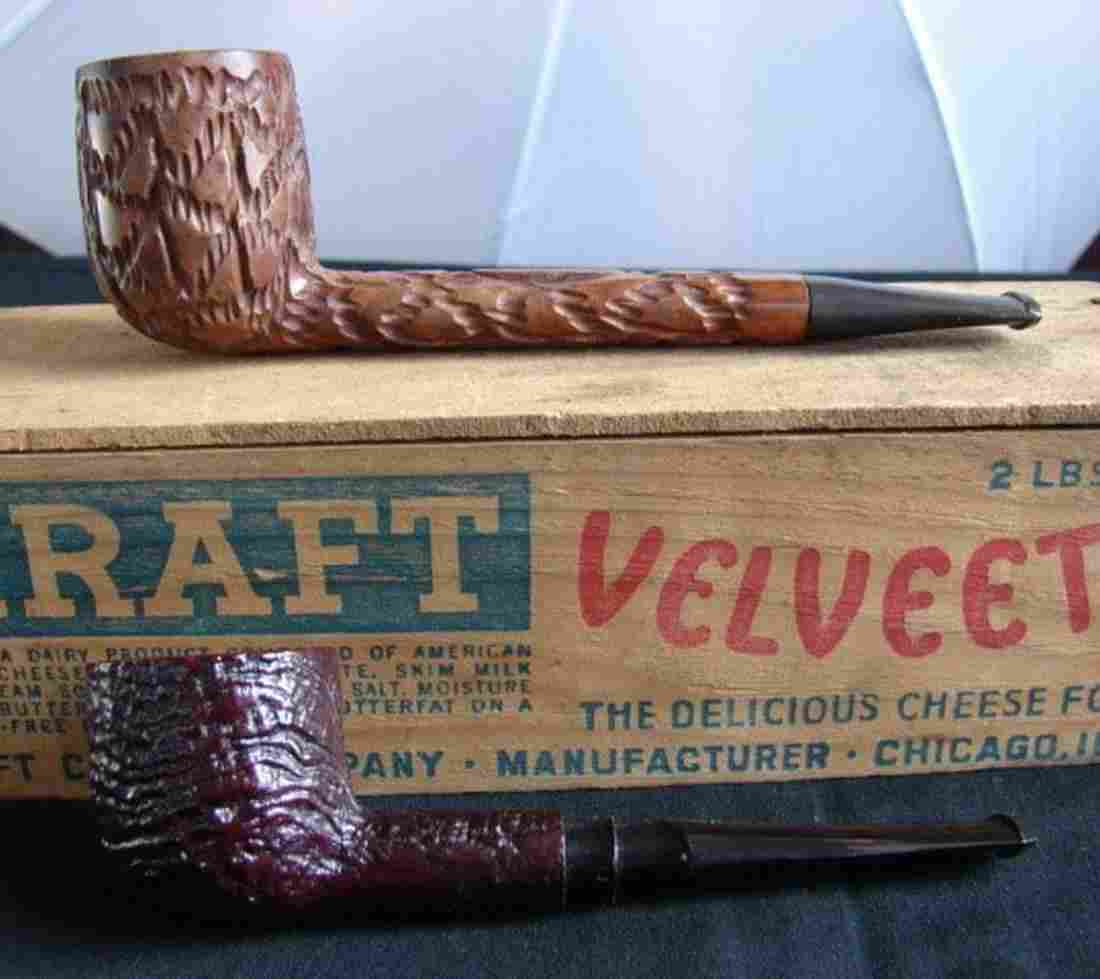 Weber Shellbrooke and Kaywoodie Saxon Pipes