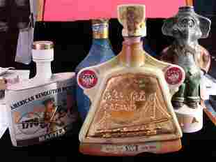 Jim Beam and Early Times Collectible Bottles