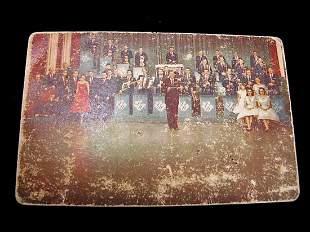 Lawrence Welk Orchestra Calendar Card