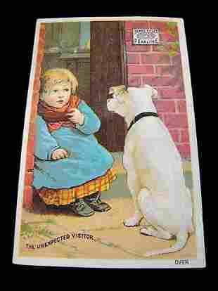 """James Pyles Pearline Advert with Dog and Child """"The"""