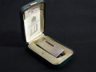 Dunhill Rollagas lighter in box with directions,
