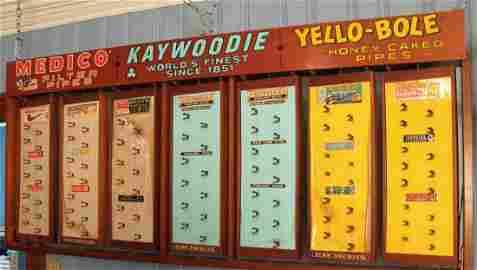 "Kaywoodie, Yello Bole, Medico 72"" x 32"" Drugstore"
