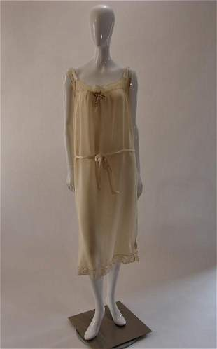 Vintage Silk Nightgown Lingerie or Dress