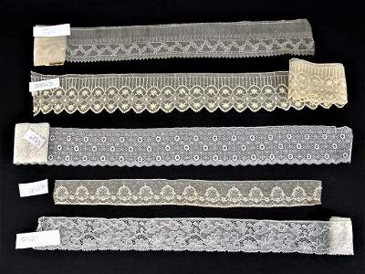 Large Lot of Beautiful Antique Laces