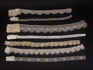 Large Lot Of Mixed Antique Laces