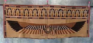 920s Egyptian Panel Tapestry