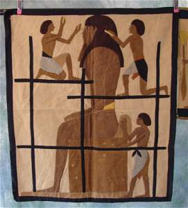 1920s Egyptian Tapestry and Fragment