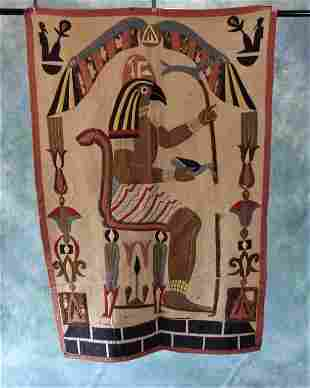 1920s Eqyptian Tapersty Panel